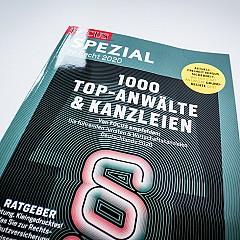 FOCUS: Nicola Kreutzer auch 2020 als TOP-Anwältin ausgezeichnet
