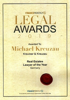Legal Awards 2019
